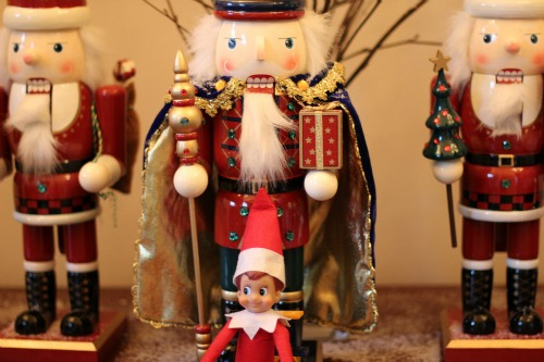 Elf on the Shelf nutcrackers