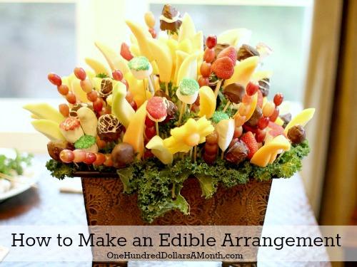 How To Make An Edible Arrangement