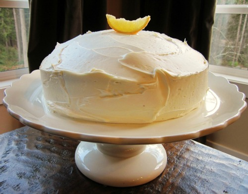 Meyer Lemon cake recipe