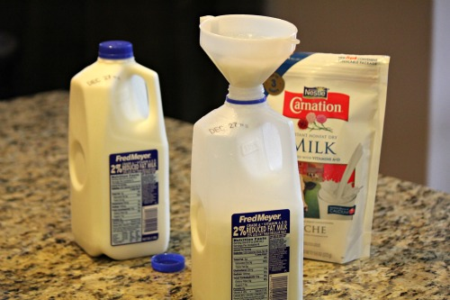 Saving Money with Powered Milk photo