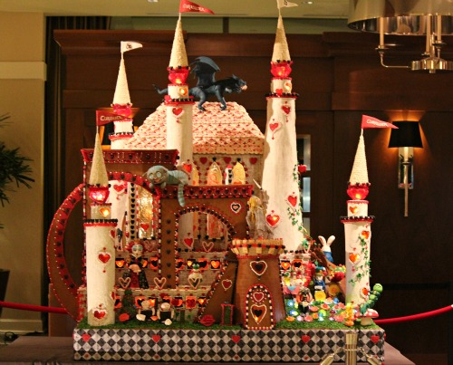 Seattle Sheraton | Gingerbread Village 2012 – Alice in Wonderland