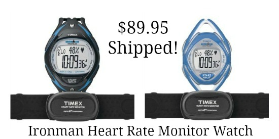 Timex  Ironman Race Trainer Heart Rate Monitor Watch