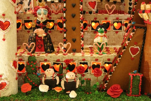 Seattle Sheraton Gingerbread Village 2012 Alice In