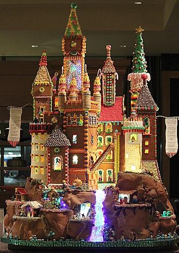 Seattle Sheraton Gingerbread Village 2012 The