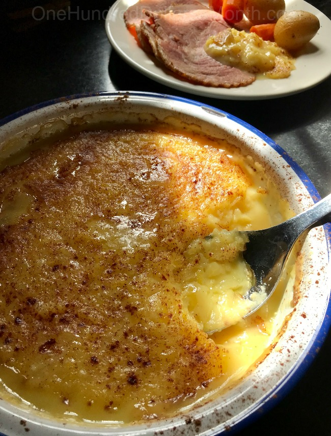 Baked Pineapple Custard Recipe