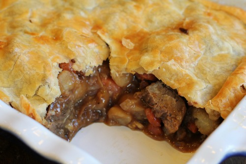 Easy Comfort Food Recipes - Beef Pot Pie