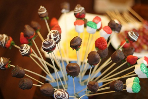 chocolate dipped strawberries Edible Arrangement