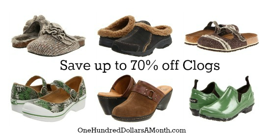 cute clogs on sale 6pm