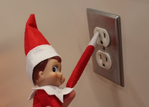 elf on the shelf christmas party