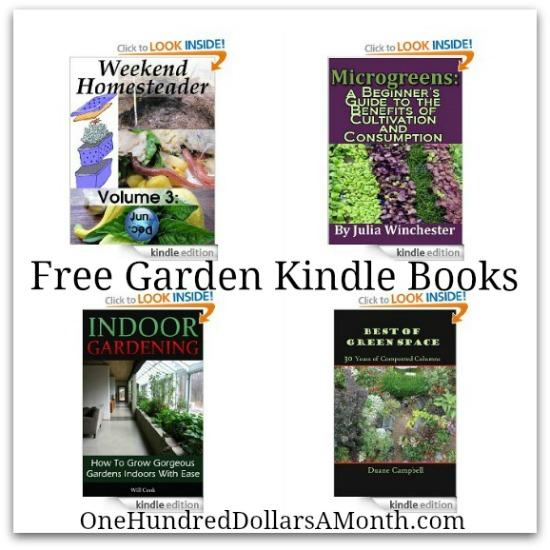 free garden gardening kindle books