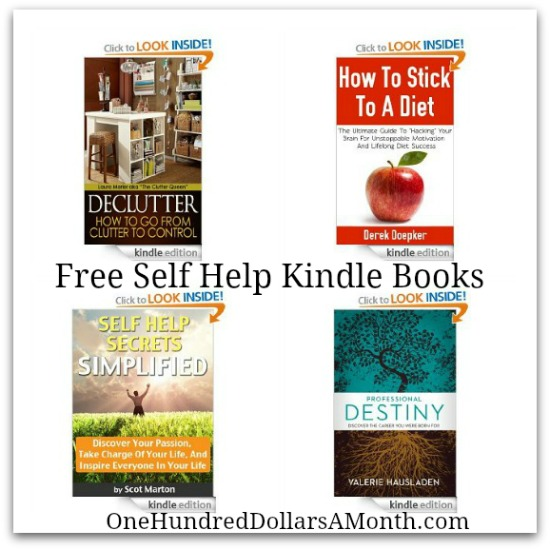 free kindle book self help
