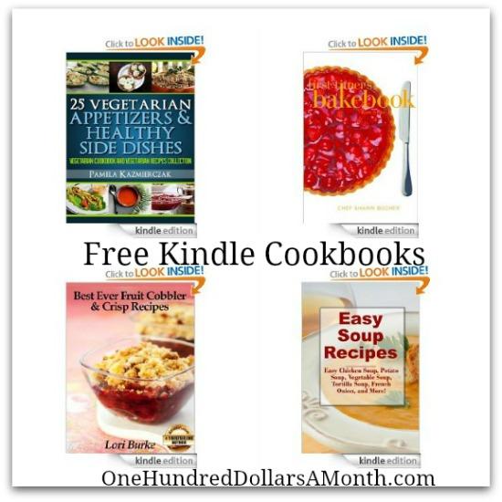Free Amazon Kindle Books – Gardening, Cooking, Kids + More