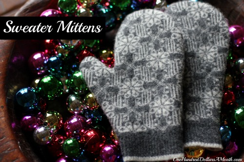 How to Make Mittens Out of an Old Sweater