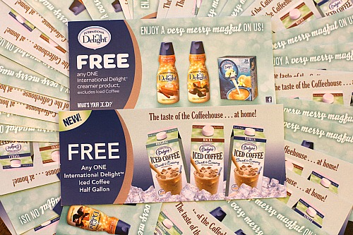 Enter to Win International Delight Iced Coffee and Creamer FREE PRODUCT Coupons