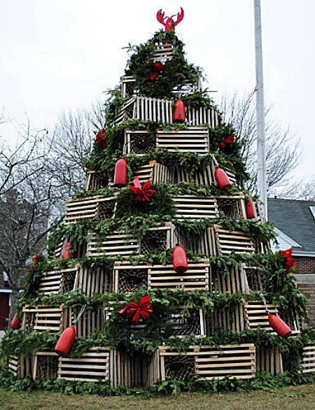 lobster traps unique christmas trees (1)