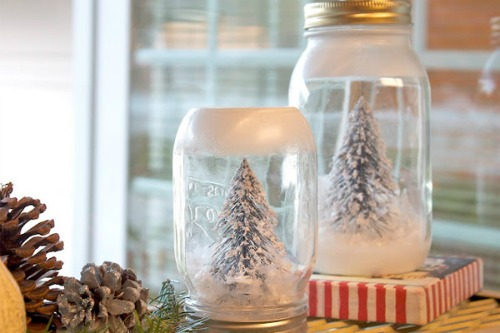 Easy Kids Christmas Craft — How to Make Your Own Snow Globe