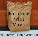 mavis butterfiled one hundred dollars a month