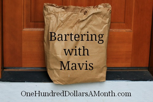 Bartering with Mavis – Organic Deer for Dry Goods