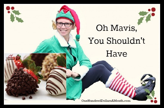 {Giveaway} Oh Mavis, Your Shouldn't Have