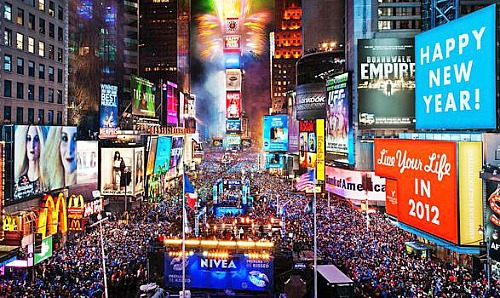 New york – new year's eve