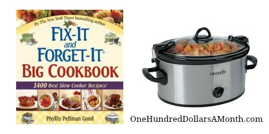 slow cooker crock pot cookbook