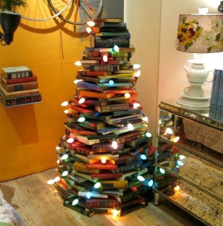 Unique Christmas Trees – Ladders, Books, Bottles, Lobster Traps + More