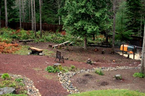 Shady Hillside Landscaping