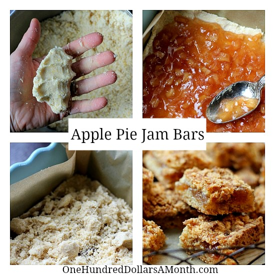 Apple Pie Jam Bars Recipe