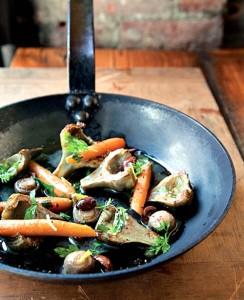 Artichokes Stewed in Olive Oil