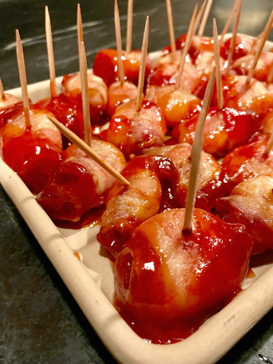 Recipe for Bacon Wrapped Water Chestnuts