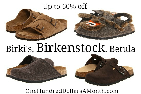 Birkenstock shoe deals sale