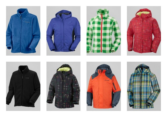 Columbia Kids jacket deals
