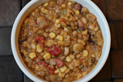 Easy Crock Pot Recipes 13 Bean Vegetarian Soup