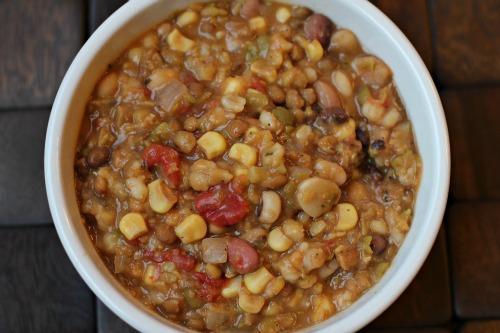 Easy Crock Pot Recipes 13 Bean Vegetarian Soup