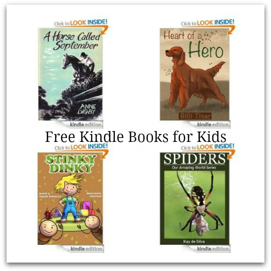 Free Amazon Kindle Books – Cookbooks, Gardening, Self Help + Books for Kids Too!