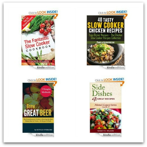 Free Amazon Kindle Books – Cooking, Gardening, Self Help, Advise and Children's Books