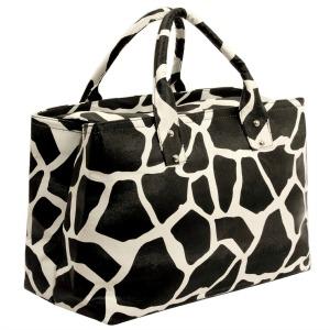 Giraffe tote purse