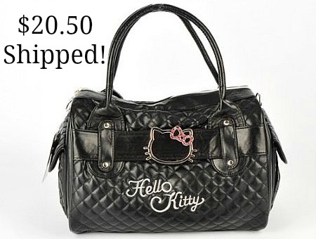 Hello Kitty Faux Leather Handbag Shoulder Bag