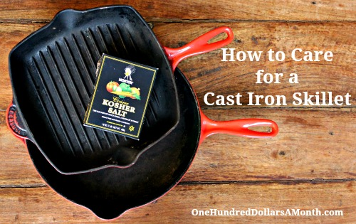 Easy Kitchen Tips – How to Care for a Cast Iron Skillet