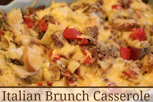 Italian Brunch Casserole