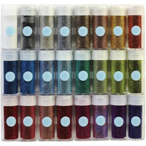 Martha Stewart Crafts Glitter Multipack, 24 Per Pack