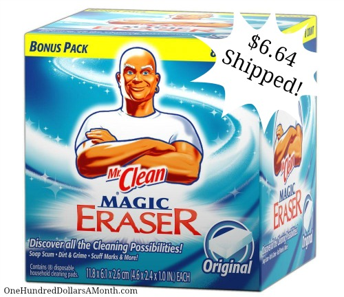 Mr. Clean Erasers