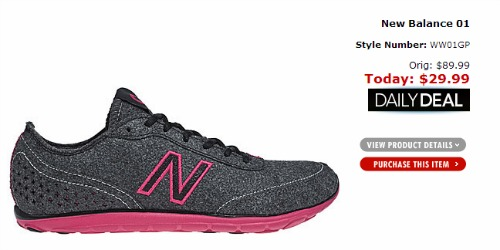 New Balance walking shoe pink