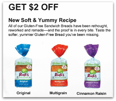 Rudis bread coupons