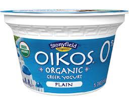 Stonyfield Organic Oikos Yogurt