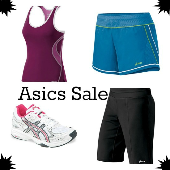 asics woman's shoe sale discount coupon