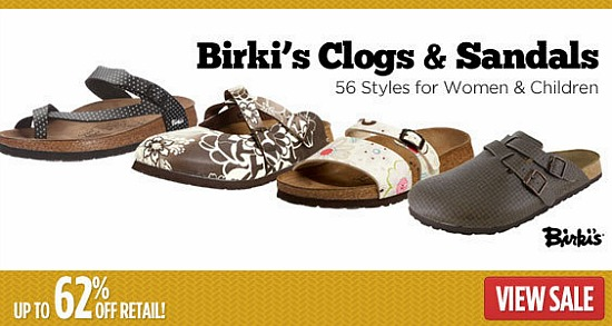 birkenstock shoe sale discount