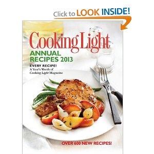 cooking light book 2013