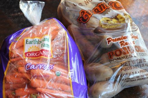 costco bulk foods carrots potatoes