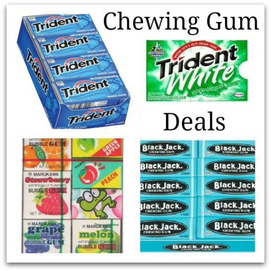 deals on chewing gum